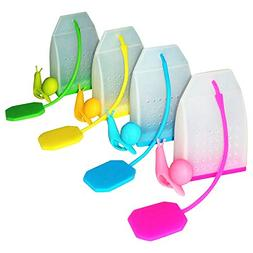30% off  - Tea Infuser/Strainer - Reusable Colorful Silicone