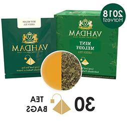 VAHDAM, Mint Green Tea,  | GARDEN FRESH Mint Green Tea Bags