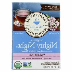 Traditional Medicinals Organic Nighty Night Valerian Herbal