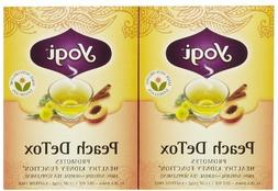 Yogi Tea Peach Detox, Herbal Supplement, Tea Bags, 16 ct, 2