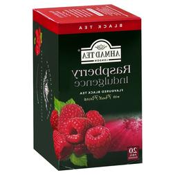 BUY 3 AHMAD TEA'S RASPBERRY INDULGENCE FLAVORED BLACK TEA BA