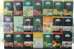 Ahmad Tea the most exclusive Tea Assorted Flavors. 20 foil t