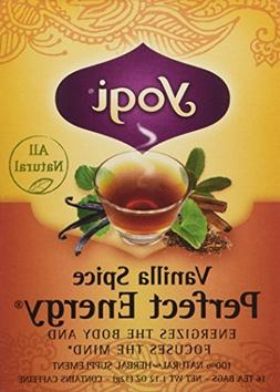Yogi Tea Vanilla Spice Perfect Energy Tea Bags - 16 ct by Yo