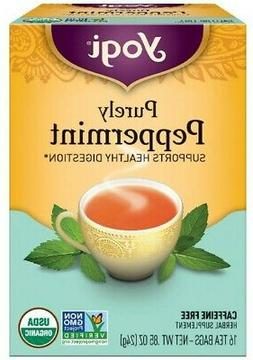 Yogi Teas Tea Purely Peppermint Org