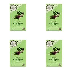 - Heath&H Organic Green Tea & Tulsi| 20 Bags |4 PACK - SUPE