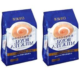 TWIN Pack Royal Milk Tea Hot Cold Nitto Kocha 10 Pouch Pack
