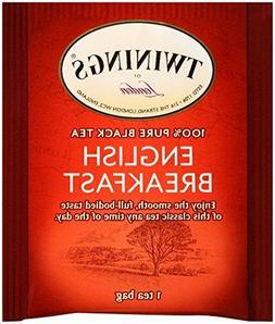 Twinings London English Breakfast Black Tea, Individually Wr