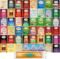 Twinings Hot Tea Bag Sampler Gift Pack, 96 Count Assortment