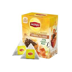 Lipton Vanilla Caramel tea black with caramel 20 pyramid tea