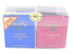 ASHBYS of LONDON VARIETY PACK 20 Foil Wrapped Tea box