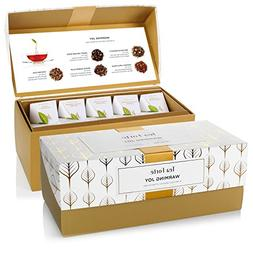 Tea Forté WARMING JOY Presentation Box Tea Sampler Gift Set