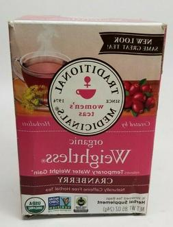 Traditional Medicinals Weightless Tea Og2 Cran 16 Bag