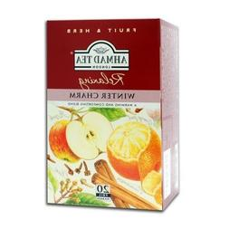Winter Charm Herbal Tea 1 box - 20 bags - Ahmad Tea London -