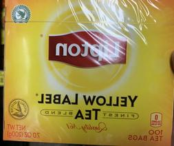 Lipton Yellow Label Finest Blend Tea Bags 100 tea bags Pack