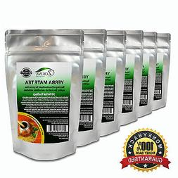 Yerba Mate Tea 6-Pack 100% Pure  All-Natural Immune System S