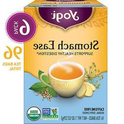 Yogi Tea - Stomach Ease - Supports Healthy Digestion - 6 Pac