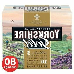 Yorkshire Gold Teabags - 80 per pack